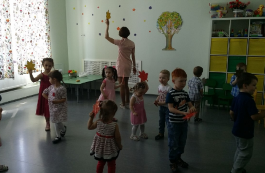 Детский центр в районе метро Академическая