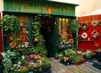 Цветочный магазин на первой линии