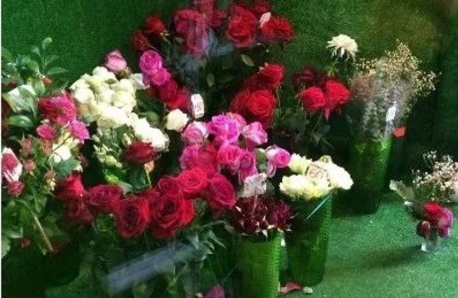 Круглосуточный цветочный магазин в центре