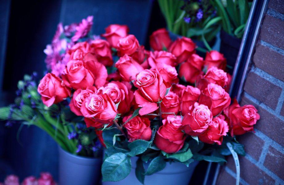 Цветочный магазин с подарками на севере города