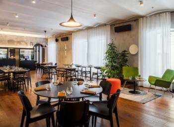 Современный Ресторан в Центре Города
