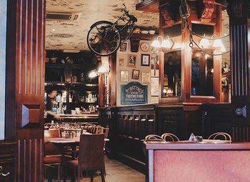 Кафе в оживленном районе города