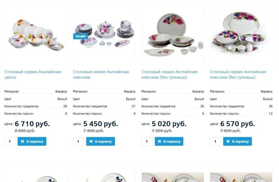 69d06e83122 Интернет-магазин посуды - продажа готового бизнеса