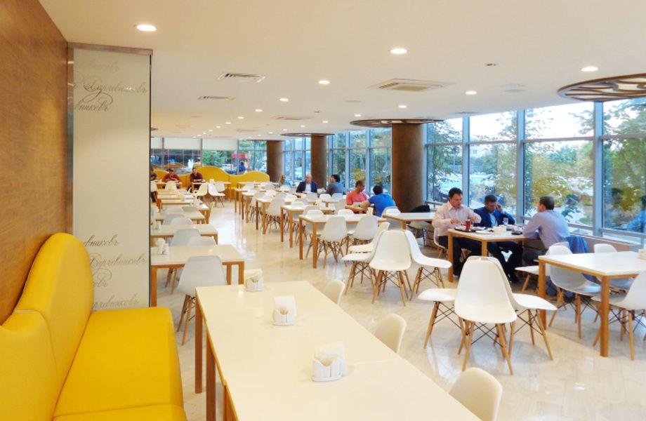 Видео и дизайн столовых на производстве и кафе, клипы