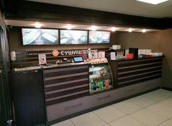 Популярный магазин суши
