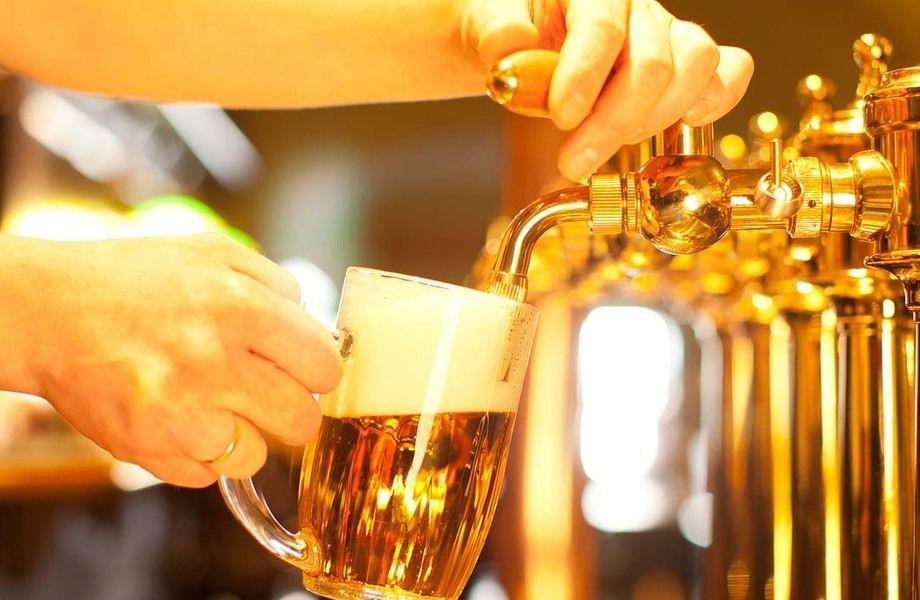 Точка разливного пива без конкурентов