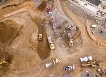 Карьер гнейсо-гранита и строительного камня