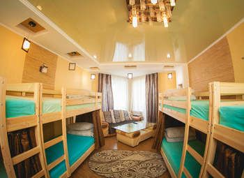 Небольшой, уютный хостел в центре города