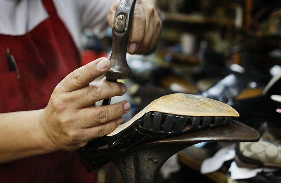 Эксклюзив. ремонт обуви с низкой арендой