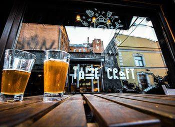 Крафтовый бар в самом центре СПб
