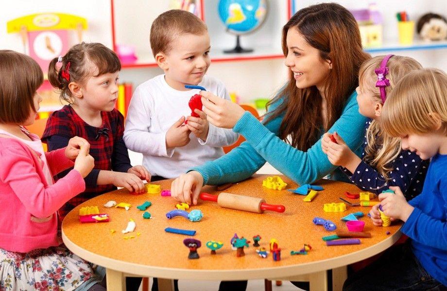 Детский сад с развивающими кружками