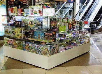 Прибыльный островок детских игрушек в ТРК