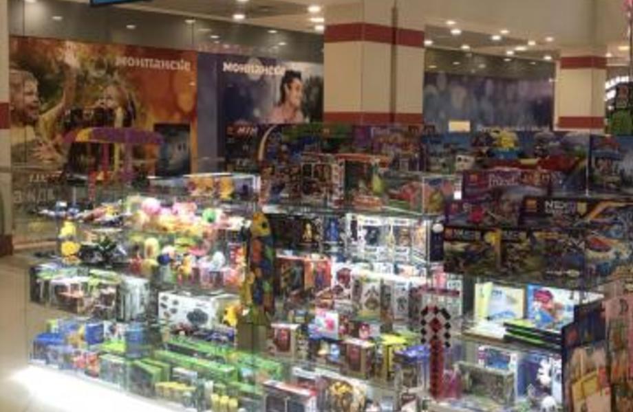 Прибыльный островок детских игрушек в крупном ТРК