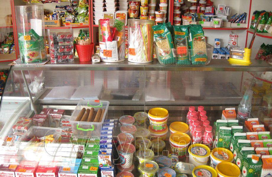 Магазин-продукты по цене оборудования