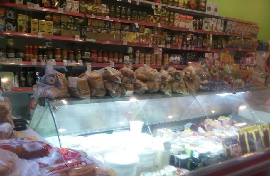 Действующий магазин Свежие продукты