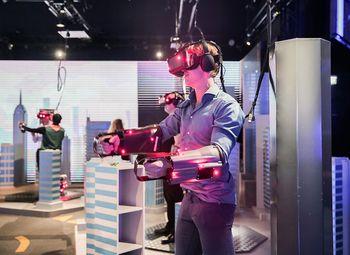 Аттракцион парк виртуальной реальности