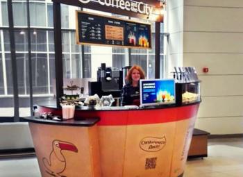 Прибыльная кофейня в крупном бизнес-центре