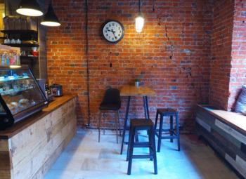 Уютная мини-кофейня в самом центре города