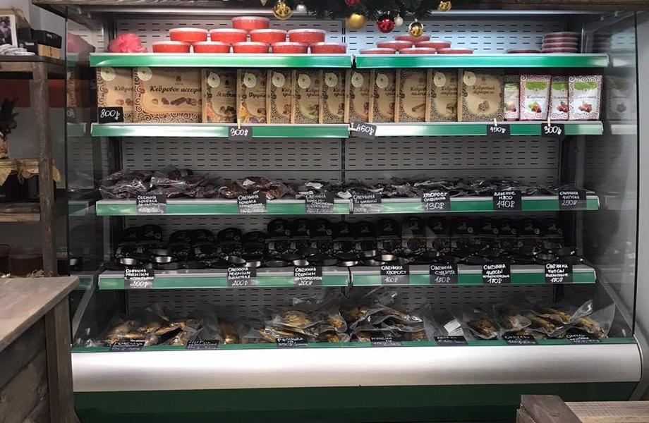 Магазин по продаже рыбных и мясных деликатесов