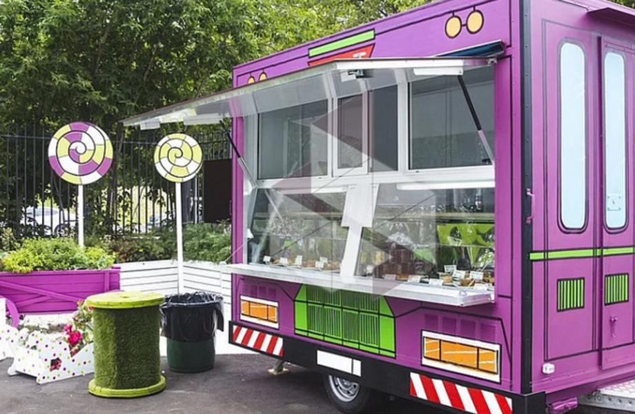 Мобильный фудкорт по изготовлению и продаже мороженого