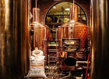 Крафтовая пивоварня популярного бренда