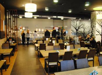Стабильно приносящая прибыль столовая в бизнес-центре