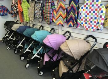 Магазин детских колясок по цене товарного остатка.