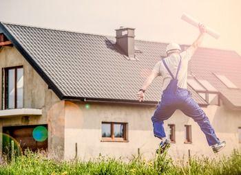 Готовый сайт в сфере строительства загородной недвижимости