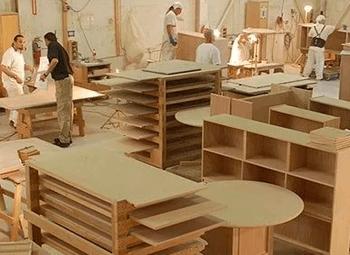 Мебельное производство детской мебели.