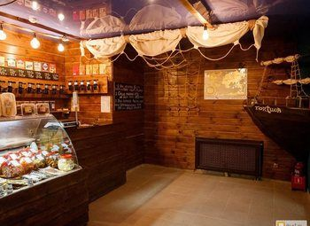 Магазин-бар разливного пива с известной франшизой