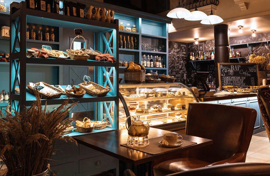 Уникальная кофейня в центре города