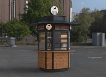 Прибыльная кофе-точка с собой в центре города