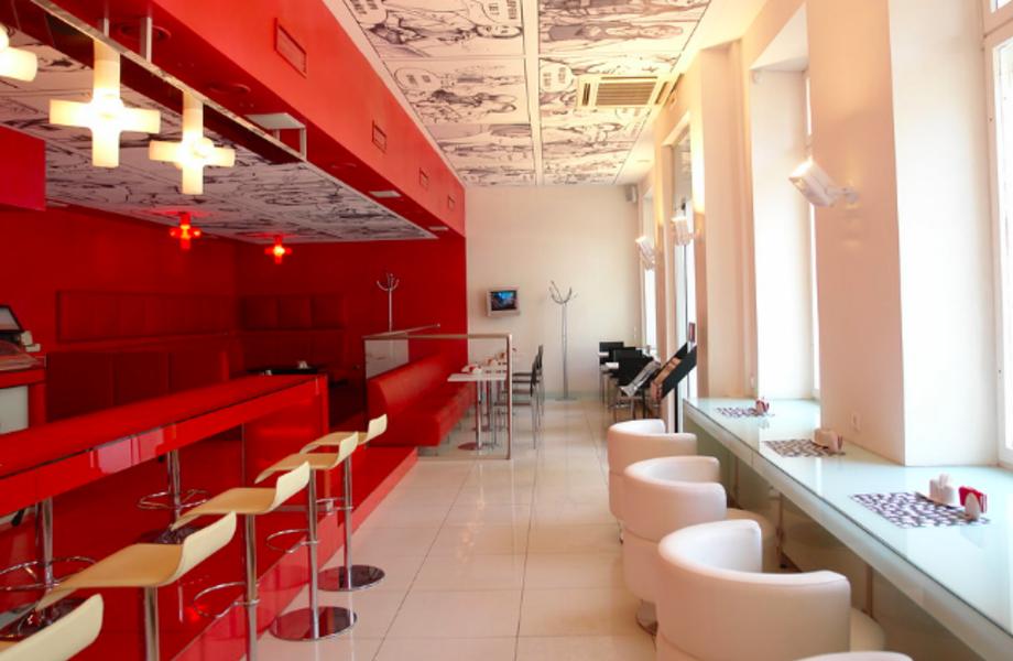 Полноформатная кофейня в удачной локации.