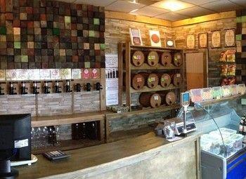 Бар-магазин крафтового пива на севере Санкт-Петербурга