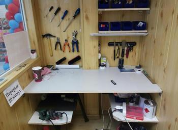Точка ремонта обуви и изготовления ключей