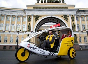 Велотакси в центре города с высокой прибылью