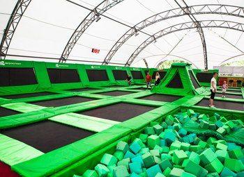 Продается батутный парк в 100 метрах от метро