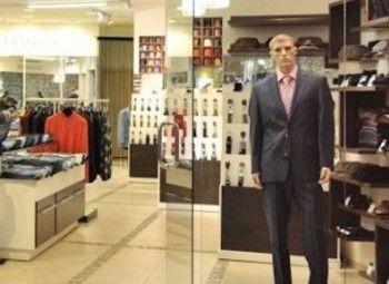 Магазин мужской одежды в ТК на юге
