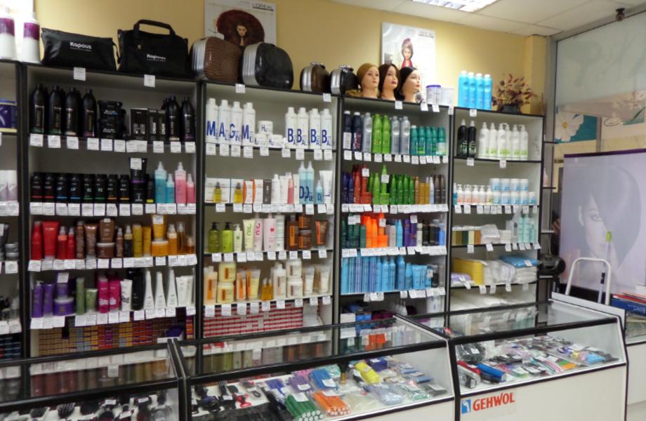 Магазин профессиональной косметики для парикмахеров
