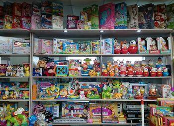 Отдел канцелярских товаров и игрушек
