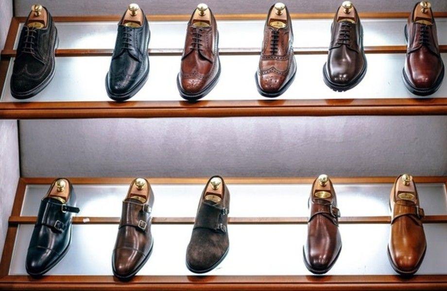 Обувная лавка в ТЦ