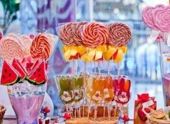 Островок сладостей в крупном ТРК