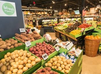 Магазин натуральных продуктов в спальном р-не