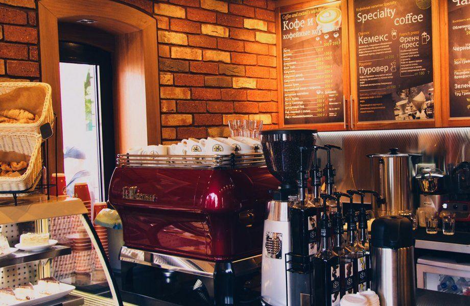Полноформатная кофейня с известной франшизой