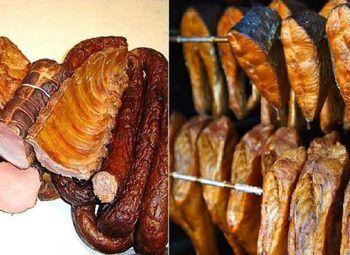 Производство и магазин копченого мяса и рыбы в Разметелево