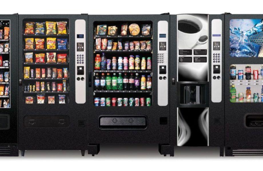 Сеть кофейных вендинговых аппаратов