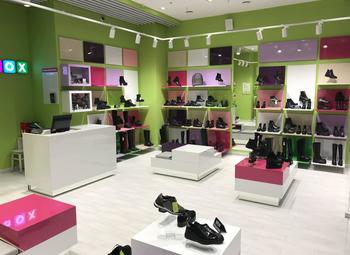 Магазин женской обуви в ТРК с большим товарным остатком.