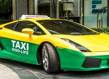 Раскрученная служба такси