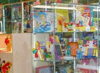 Отдел игрушек в крупном ТРК на юге