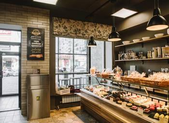 Пекарня на первой линии в проходном месте